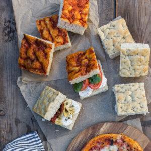 Focaccias & Pizza
